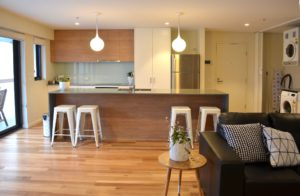 self contained apartment accommodation in Bellerive Hobart Tasmania disabled accommodation