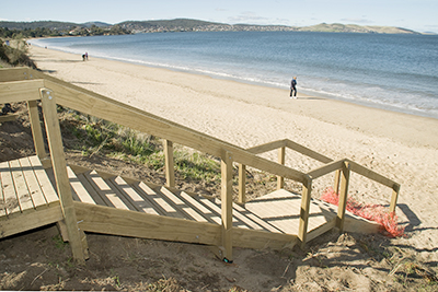 bellerive beach self contained apartment accommodation in Bellerive Hobart Tasmania