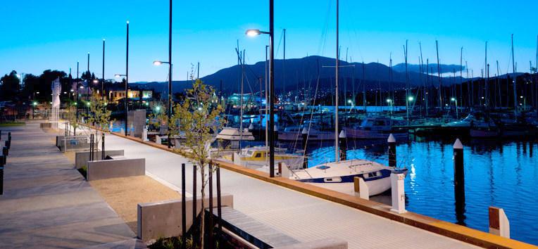 Bellerive Board Walk - self contained apartment accommodation in Bellerive Hobart Tasmania